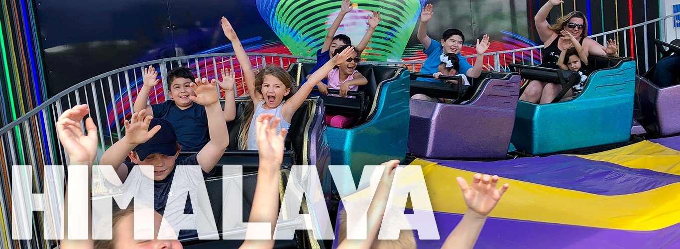 We'll spin you around on the Himalaya at In The Game