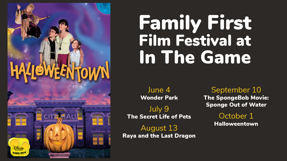 Family First Film Festival at In The Game Presents Halloweentown